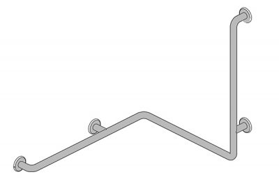 "C14 Shower Rail 30"" x 24"" x 30"""