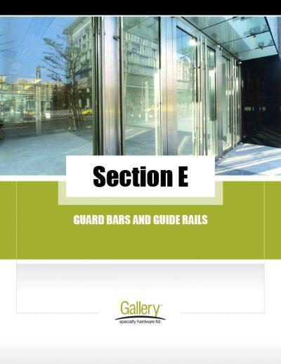 E - Guard Bars & Guide Rails